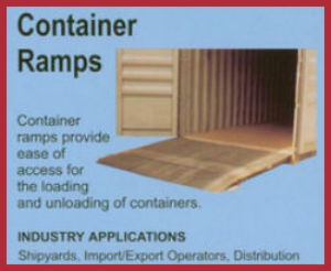 container ramps forklift ramps