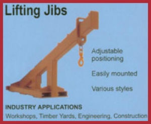 lifting jibs forklift attachment